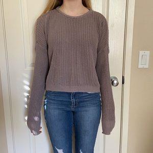 brandy melville lavender sweater